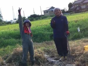 農家の方と台湾の方