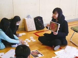 小学生との交流会