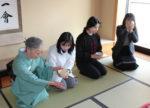 2018年度短期語学研修茶道体験